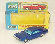 Moko Matchbox Lesney K-22  Superking Dodge Charger/NMIB