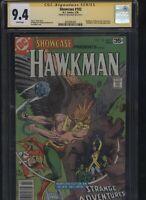 Showcase #102 CGC 9.4 SS Joe Kubert 1978 HAWKMAN