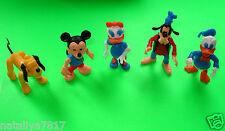Conjunto completo # Disney personajes # steckfiguren Pluto-Donald-Daisy 1981 = top