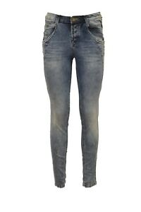 New Women's SIMPLY JEANS Skinny Jeans - Ankle length - LIGHT STONE