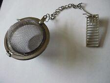 Mackintosh Chair Back Tea Ball Mesh Infuser Stainless Steel Sphere Strainer w19
