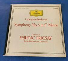 """FERENC FRICSAY - """"Beethoven Symphony No 5 in C Minor"""" (Grammophon LPM 18 813"""