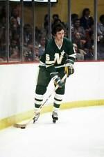 Old Large Nhl Hockey Photo, Minnesota North Stars Brad Maxwell 1970 1