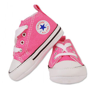 Converse Infant Crib Chuck Taylor First Star Hi Pink 88871