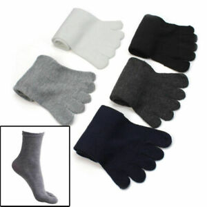 5 Pairs Fashion Men Five Fingers Separate Toe Socks Comfortable Warm Hot SHIP US