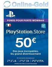 Sony PlayStation Network Carte 50 EUR (PS4/PS3/PSVita)