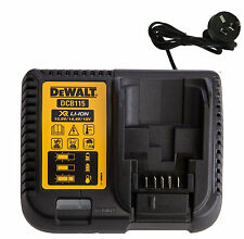 DEWALT 240volt  LITHIUM ION BATTERY CHARGER DCB115  10.8V - 20V BATTERIES dcb105