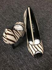 Coloriffics Alisha Hill Victoria Open Toe Zebra Platform 6 M .$80.00