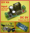 AC/DC 9V 24V 12V to 5V DC LM7805 Voltage Regulator Converter Power Supply Module