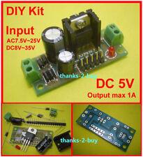AC/DC 9V~24V 12V to 5V DC LM7805 Voltage Regulator Converter Power Supply Module