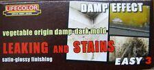 Lifecolor MS-12  Model Paint - Leaking & Stains Damp Effect Acrylic Paint Set
