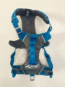 Kurgo Journey Harness for Dog Blue & Gray - Large 50-80 lb #5933 NWOT