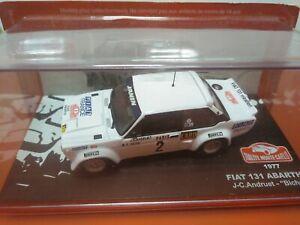 COCHE 1/43, ALTAYA, MODELO FIAT 131 ABARTH RALLYE MONTE CARLO 1977.