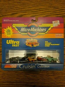 New Micro Machines #30 Cruisin' Collection Galoob 6400 1986 1987 1988 Ultra Fast