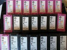 21 x HP 62 Colour & Black EMPTY Cartridges
