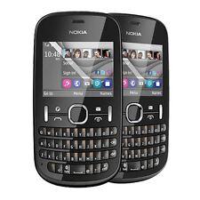 Nokia Asha 201 Graphite (Unlocked) Except 3G Smartphone Mobile - Warranty UK