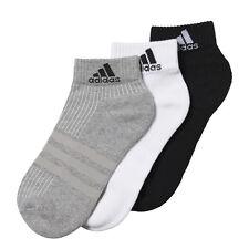 Adidas Performance Caviglia mezza Ammortizzato Calzini sportivi Confezione da 3 Multicolore UK 5.5-8