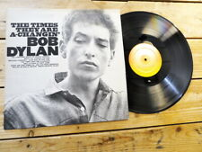 BOB DYLAN THE TIMES THEY ARE A-CHANGIN' LP 33T VINYLE EX COVER EX ORIGINAL 1991