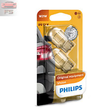 2 x Philips W21W 12V T10 21W W3x16d Vision Standard Innen-Signallampen 12065B2