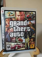 Grand Theft Auto IV GH PS3 GTA 4 Complete w/ Manual and Map Sony PlayStation 3