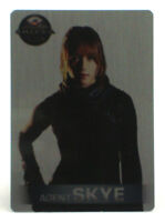 2015 Marvel Agents Of Shield Agent Skye Metal Parallel Card Prototype RA/75