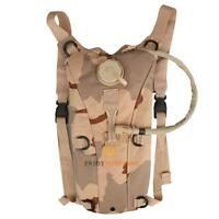 1x 2.5L/3L Hydration System Water Bag Pouch Backpack Bladder Climbing Hiking