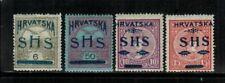 Yugoslavia #2L1-4 Complete Set 1918 MH