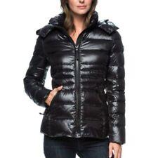 Andrew Marc Women's Detachable Hood  Short Premium Down Jacket Coat - Size XL