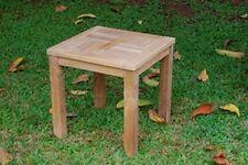 "Windsor's Genuine Grade A Teak Cape Cod 20"" Square x 20""H Side Table."