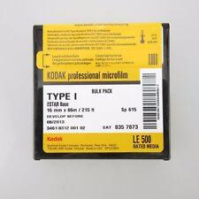 66 metros Professional kodak microfilm 16mm película para cámara cinemática experimentos