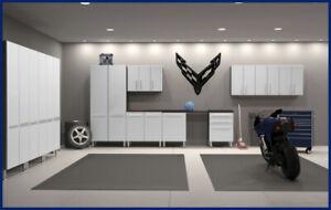 "C8 Corvette Flag Garage Wall Decals 23"" x 23"""