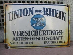 UNION und RHEIN VERSICHERUNGS-AKTIEN-GESELLSCHAFT  BERLIN  EV.: 144 J  um 1938
