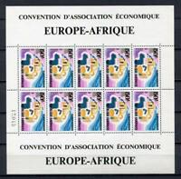 29686) GABON  1967 MNH** EUROPAFRIQUE MS