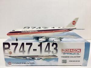 DRAGON WINGS 1:400 Continental Airlines BOEING 747-143 N605PE 55146