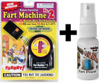 1 Fart Machine 2 with remote  1 Liquid Ass Spray Bottle Stink Bomb  COMBO
