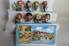 KINDER SURPRISE FERRERO COMPLETE SET IDENTYKIDS MAGIC SCHOOL CAKE TOPPERS +PAPER