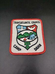 Transatlantic Council Boy Scouts Patch - Camp Dahn