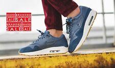 BNIB New Women Nike Air Max 1 Premium SC Defused Blue Size 5 6uk