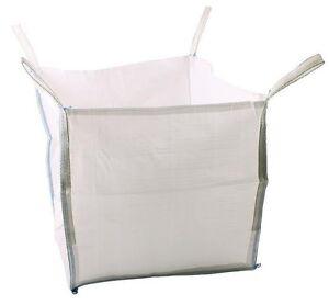 50 x 1 Ton  Bulk Bag Builders Rubble Rubbish Sack Tonne New Garden Waste Storage