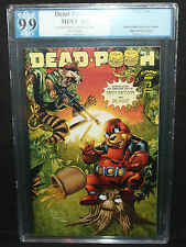 Dead Pooh #3 Winnie the Pooh / Deadpool / Guardians of the Galaxy PGX 9.9 - 2014