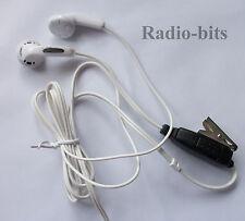 Kenwood HYT 2 Pin  MP3 Style Earpiece  Mic TK Pro-Talk TK-3201 TK-3202 TK-3000
