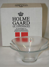 Vintage HolmeGaard Glass Art of Copenhagen Denmark - Excellent condition w/ box