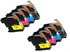 8 LC103 XL LC103BK Black & Color Printer HY Ink Cartridge for Brother MFC-J870DW