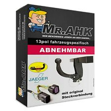 AUTO-HAK Opel Meriva A 03-10 AHK Anhängerkupplung abnehmbar 13pol spe. E-Satz