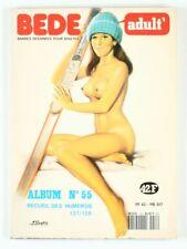 BD adultes  Bédé Adult N°55, Recueil de 2 numéros : n°127 et n° 128