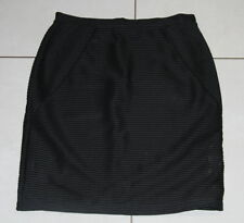 Womens size M (12) black stretch pencil skirt made by SUSSAN