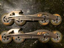 K2 227G Inline Skate Frames With Wheels