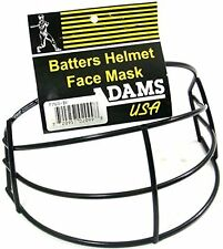 Adams Fm-68 Baseball Helmet Face Mask Nwt Black W Hardware Nocsae & Astm Approve
