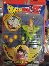 DRAGONBALL Z Android 16 Androids Saga Irwin Toy 2001 IRWIN EXCLU SILVER! SEALED