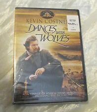 Dances With Wolves Kevin Costner (New) Dvd Winner of 7 Academy Awards